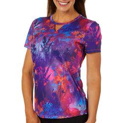 Reel Legends Womens Freeline Field Of Flowers T-Shirt
