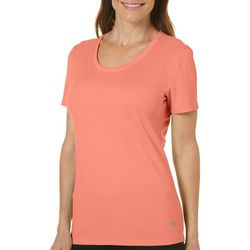 Reel Legends Womens Freeline Scoop Neck Top