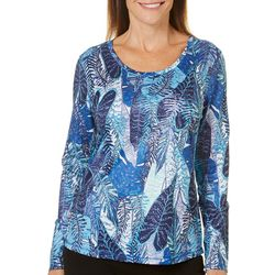 Reel Legends Womens Freeline Palm Variety Long Sleeve Top