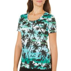 Reel Legends Womens Freeline Breezy Palm Top
