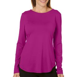 Reel Legends Womens Elite Comfort Open Back Long Sleeve Top