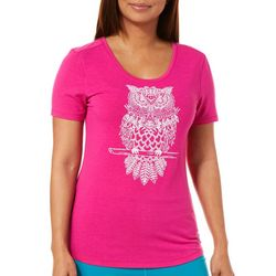 Reel Legends Womens Owl Love You T-Shirt