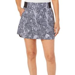 Reel Legends Womens Textured Palms Adventure Skort