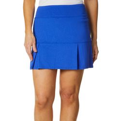 Reel Legends Womens Keep It Cool Leafy Linework Skort