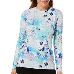 Reel Legends Womens Keep It Cool Colorful Blossom Top