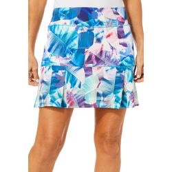 Reel Legends Womens Keep It Cool X-Ray Palm Skort
