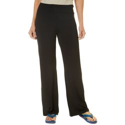 Reel Legends Womens Keep It Cool Solid Beach Pants