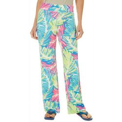 Reel Legends Womens Keep It Cool Sketch Palm Beach Pants