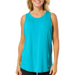 Reel Legends Womens Keep It Cool Crisscross Back Top