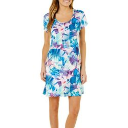 Reel Legends Womens Keep It Cool X-Ray Palm Sundress