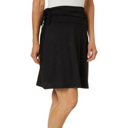 Reel Legends Womens Keep It Cool Leaf Detail Skirt