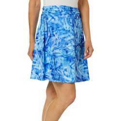 Reel Legends Womens Keep It Cool Underwater Palms Skirt