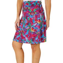Reel Legends Womens Keep It Cool Bold Hawaii Skirt