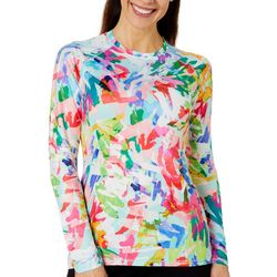 Reel Legends Womens Keep It Cool Coral Paradise Top