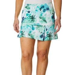 Reel Legends Womens Keep It Cool Miami Palms Skort
