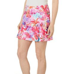 Reel Legends Womens Keep It Cool Airy Palms Skort