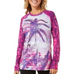 Reel Legends Womens Keep It Cool Coconut Palm Top
