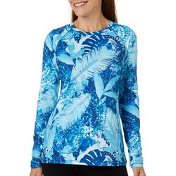 Reel Legends Womens Keep It Cool Jungle Collage Top