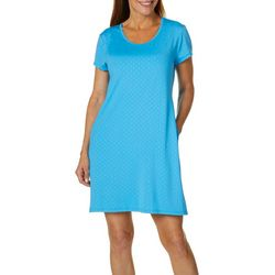 Reel Legends Womens Keep It Cool Fish Scale Pocket Dress