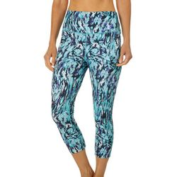 Reel Legends Womens Elite Comfort Marbled Crop Leggings
