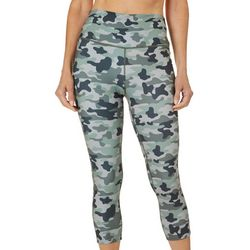 Reel Legends Womens Elite Comfort Camouflage Crop Leggings