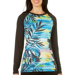 Reel Legends Womens Keep It Cool Placed Party Palm Top