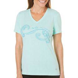 Reel Legends Womens Reel Fresh Waves T-Shirt