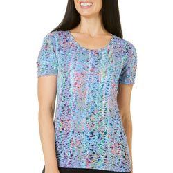 Reel Legends Womens Reel Fresh Camellia Palm T-Shirt