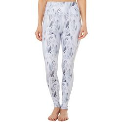 Reel Legends Womens Elite Comfort Leaves Print Leggings