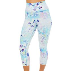 Reel Legends Womens Keep It Cool Colorful Blossom Capris