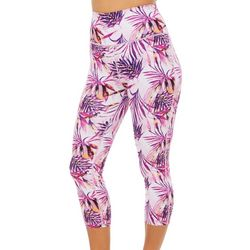 Reel Legends Womens Keep It Cool Tropical Dreams Capris