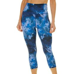 Reel Legends Womens Keep It Cool Floral High Rise Capris
