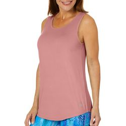 Reel Legends Womens Keep It Cool Caged Back Sleeveless Top