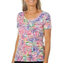 Reel Legends Womens Reel Fresh Rainbow Jungle Top