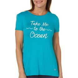 Reel Legends Womens Take Me To The Ocean Top