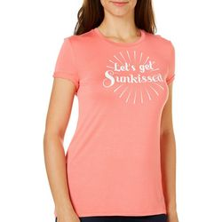Reel Legends Womens Let's Get Sunkissed T-Shirt