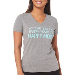 Reel Legends Womens Reel Fresh Every Hour Happy Hour T-Shirt