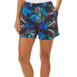 Reel Legends Womens Butterfly Wing Pull On Shorts
