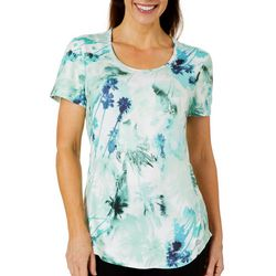 Reel Legends Womens Elite Comfort Miami Palms Top