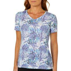 Reel Legends Womens Tropical Dreams T-Shirt