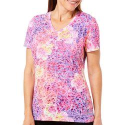 Reel Legends Womens Reel Fresh Tropical Floral T-Shirt