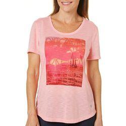 Reel Legends Womens Motivational Sailboat T-Shirt