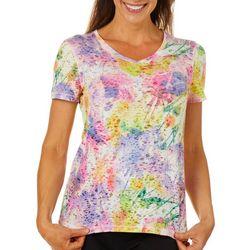 Reel Legends Womens Miami Palms Burnout T-Shirt