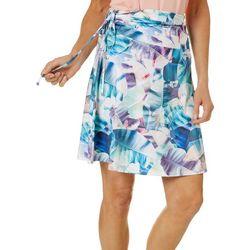 Reel Legends Womens X-Ray Palms Convertible Skirt