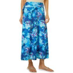Reel Legends Womens Keep It Cool Misty Palms Maxi Skirt