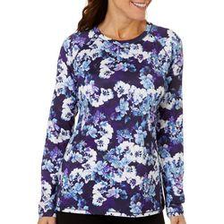 Reel Legends Womens Keep It Cool Modern Floral Top