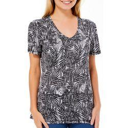 Reel Legends Womens Reel-Tec Textured Palm Short Sleeve Top