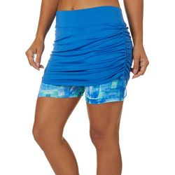 Reel Legends Womens Keep It Cool Water Cubes Skort