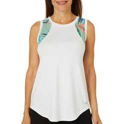 Reel Legends Womens Elite Comfort Elegant Palms Tank Top