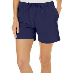 Reel Legends Womens Solid Pull On Shorts